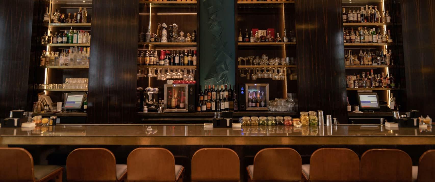 Twelve Thirty Club   Bar top with seats