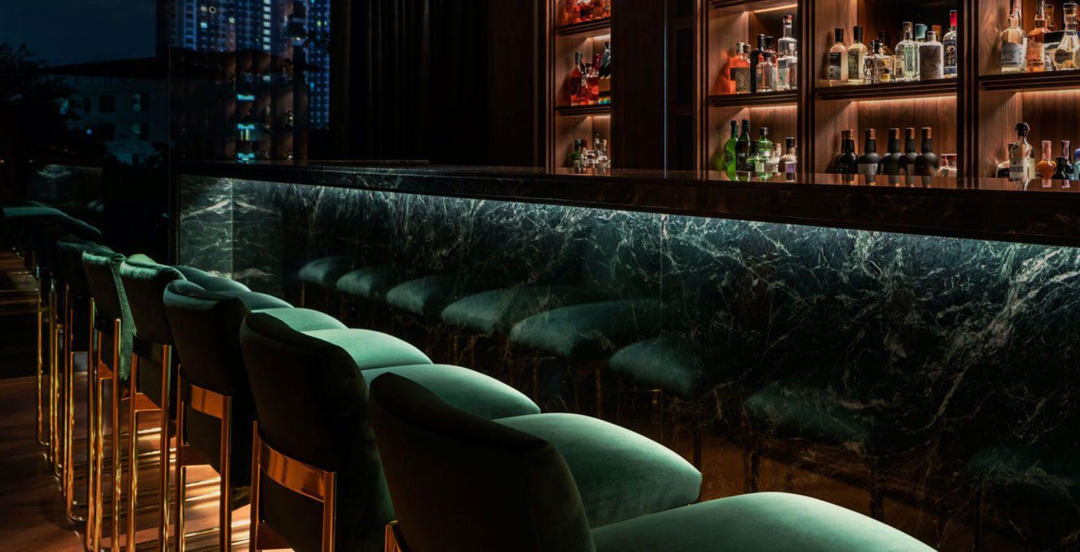 Twelve Thirty Club | Bar top and bar stool seats